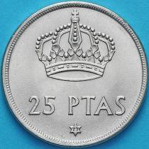 Испания 25 песет 1975 (77) год.