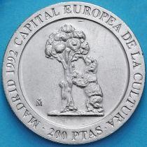 Испания 200 песет 1992 год. Медведь.