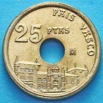 Испания 25 песет 1993 год. Страна Басков. Без обращения.