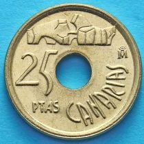 Испания 25 песет 1994 год. Канарские острова. Без обращения.
