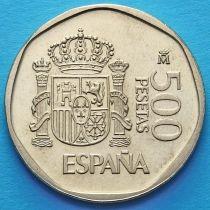 Испания 500 песет 1987-1988 год.
