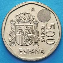 Испания 500 песет 1993-1994 год. Голограмма.
