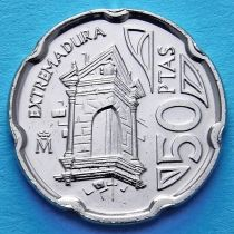 Испания 50 песет 1993 год. Эстремадура.