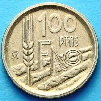 Испания 100 песет 1995 год. ФАО