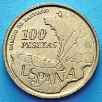 Испания 100 песет 1993 год. Путь Святого Иакова.