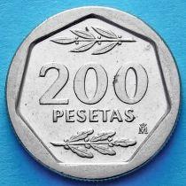 Испания 200 песет 1986-1988 год.