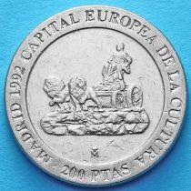 Испания 200 песет 1991 год. Мадрид, культурная столица Европы.