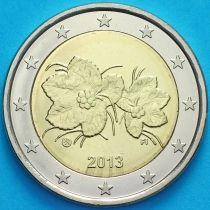 Финляндия 2 евро 2013 год.  Fi, Лев