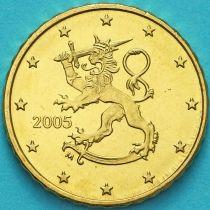 Финляндия 10 евроцентов 2005 год. М
