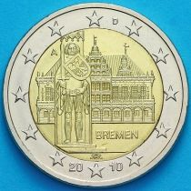 Германия 2 евро 2010 год. Бремен. А