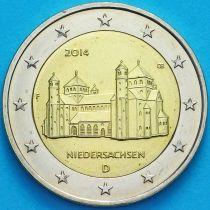 Германия 2 евро 2014 год. Нижняя Саксония. F