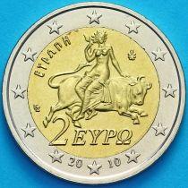 Греция 2 евро 2010 год.