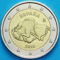 Испания 2 евро 2015 год. Пещера Альтамира.