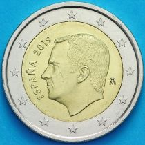Испания 2 евро 2019 год. Филипп VI
