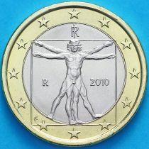 Италия 1 евро 2010 год.