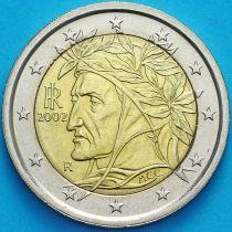 Италия 2 евро 2002 год.