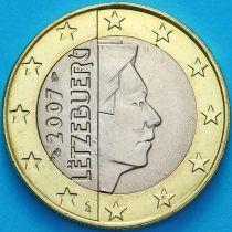 Люксембург 1 евро 2007 год. F