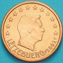 Люксембург 2 евроцента 2002 год.