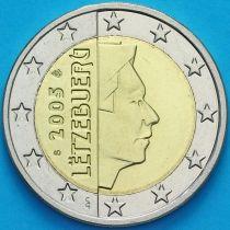 Люксембург 2 евро 2005 год. S