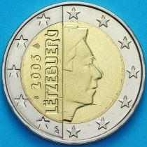 Люксембург 2 евро 2006 год. S