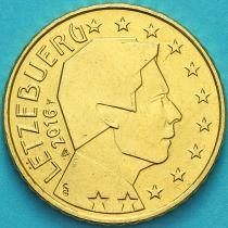 Люксембург 10 евроцентов 2016 год.