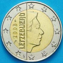 Люксембург 2 евро 2008 год. F