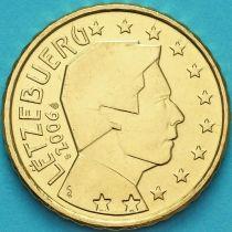 Люксембург 10 евроцентов 2006 год. S