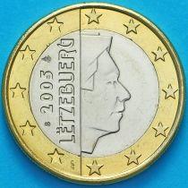 Люксембург 1 евро 2005 год. S