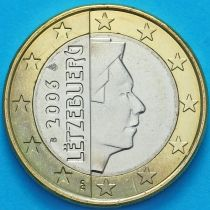Люксембург 1 евро 2006 год. S