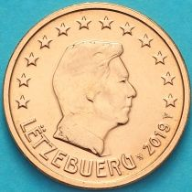 Люксембург 2 евроцента 2019 год. Лев.