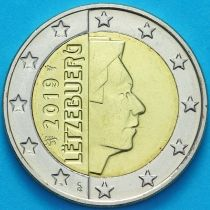Люксембург 2 евро 2019 год. Лев