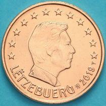 Люксембург 5 евроцентов 2019 год. Лев.