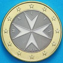 Мальта 1 евро 2016 год. F