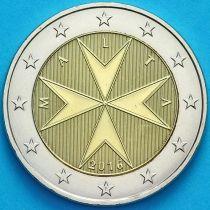 Мальта 2 евро 2016 год. F