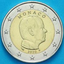Монако 2 евро 2020 год. Тип 2