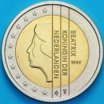 Нидерланды 2 евро 1999 год.