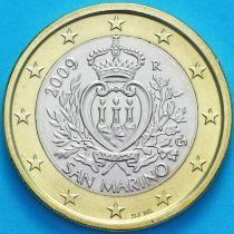 Сан Марино 1 евро 2009 год.