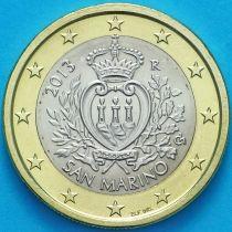 Сан Марино 1 евро 2013 год.