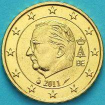Бельгия 10 евроцентов 2011 год. (тип 3)