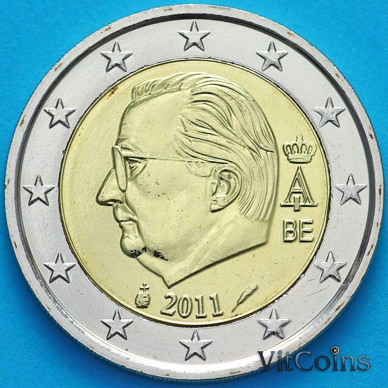 Монета Бельгия 2 евро 2011 год.