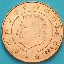 Бельгия 1 евроцент 2004 год. (тип 1)