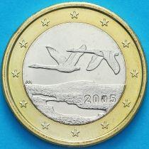 Финляндия 1 евро 2005 год.  М