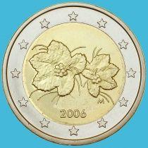 Финляндия 2 евро 2006 год. М