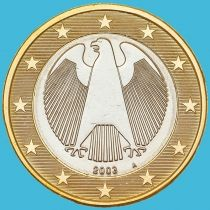 Германия 1 евро 2003 год. А