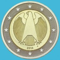 Германия 2 евро 2014 год. F
