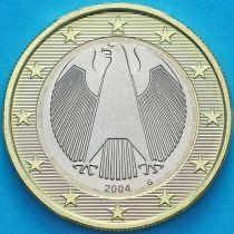 Германия 1 евро 2004 год. G