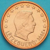 Люксембург 2 евроцента 2005 год. S