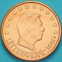 Люксембург 5 евроцентов 2005 год. S