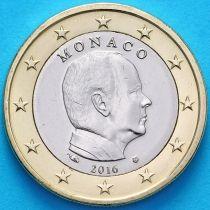 Монако 1 евро 2016 год. Тип 2