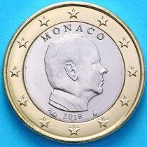 Монако 1 евро 2018 год. Тип 2